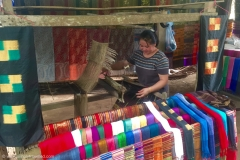 Local Village - Silk Weaving