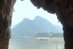 Mekong River - View from cave