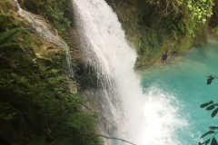 View from above - Kawasan Falls
