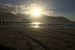 Hanalei at Sunset