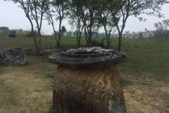 Plain of jars - Jar with lid