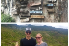 Sagada - Hanging Coffins & Kim and Rob Hiking