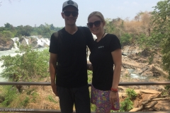 Khone Phapheng Waterfall - Rob & Kim