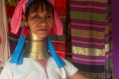 Karen Tribe - Woman in traditional clothing