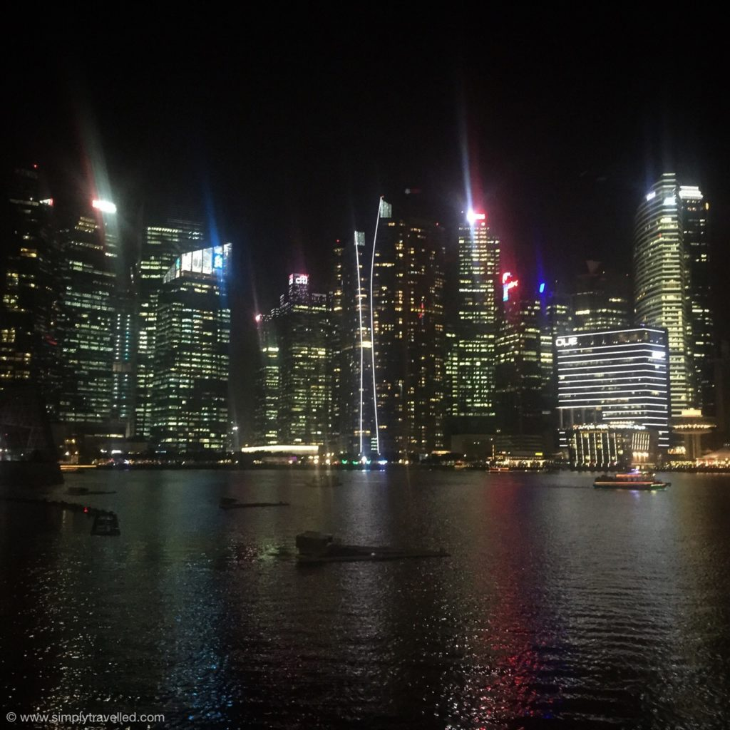 Where to go in Singapore - City lights by night