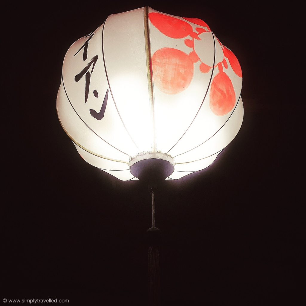 Lanterns light up the streets of Hoi An