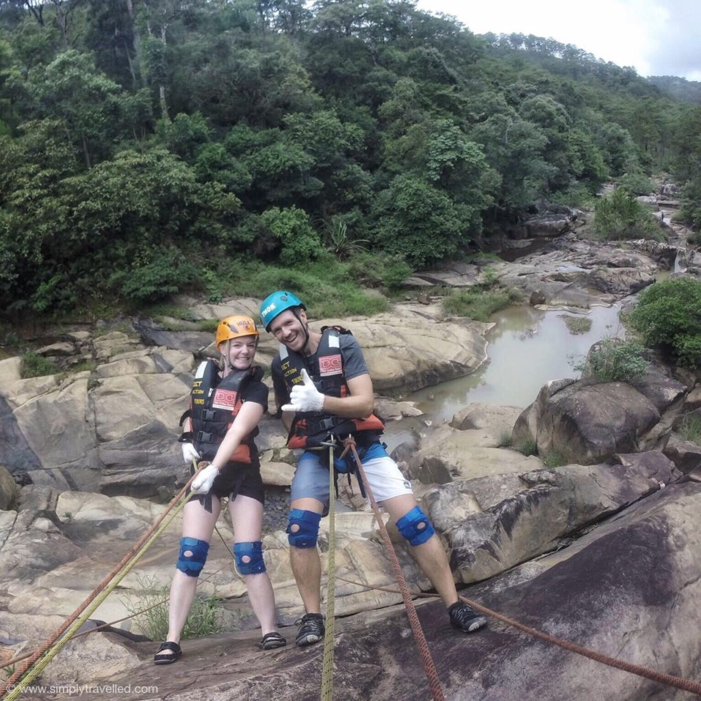 Canyoning fun in Dalat