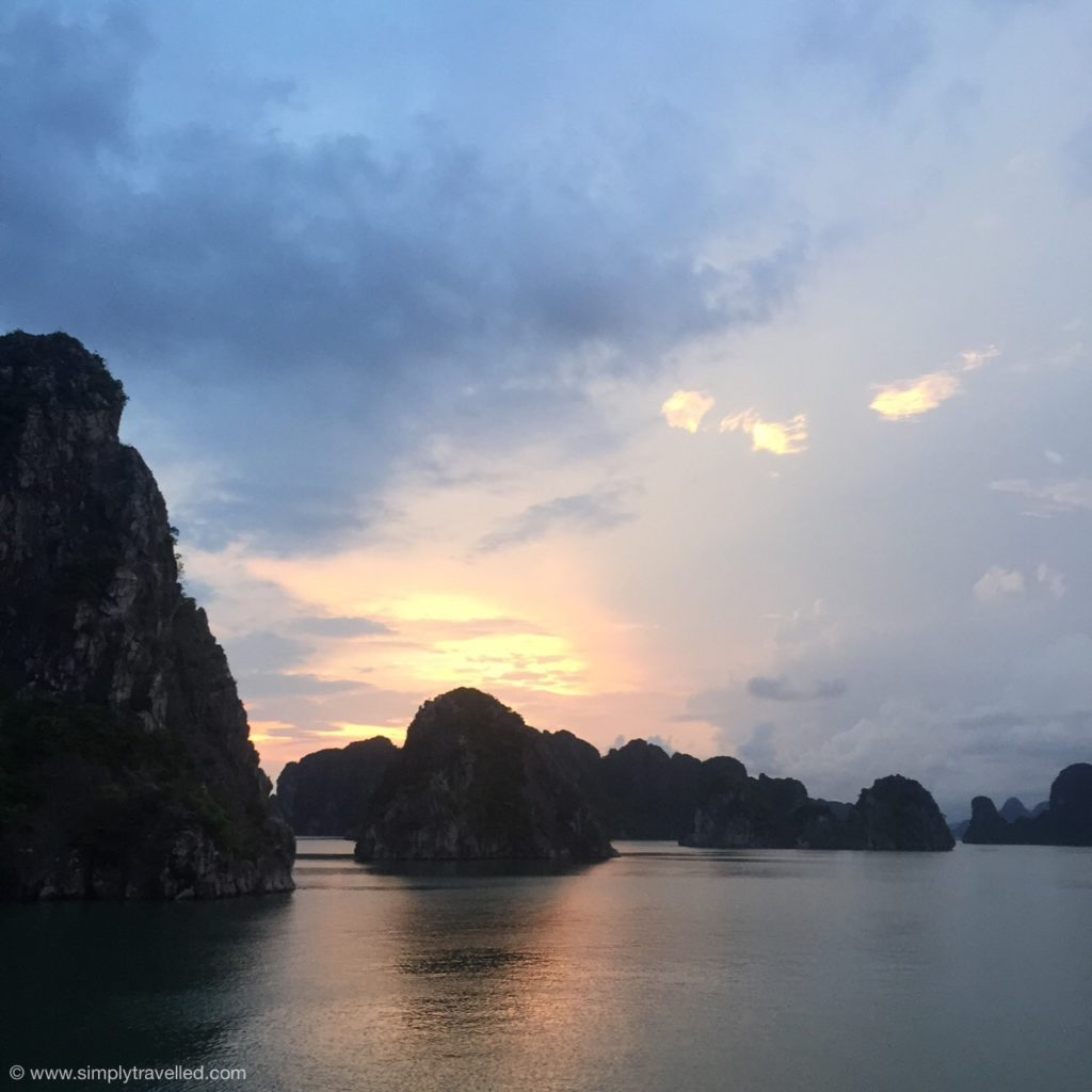 Bai Tu Long Bay - The limestone karsts go on for days