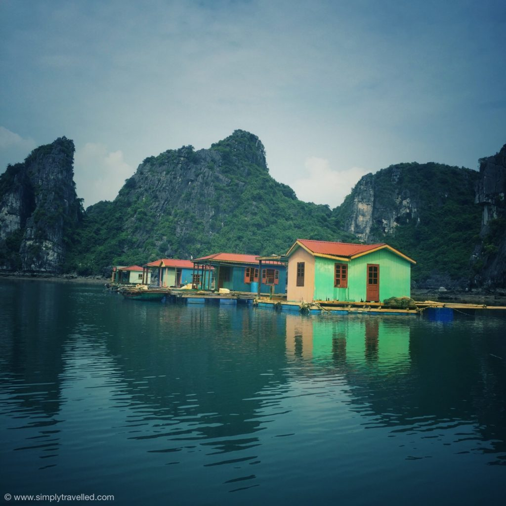Local fishing village - Bai Tu Long Bay