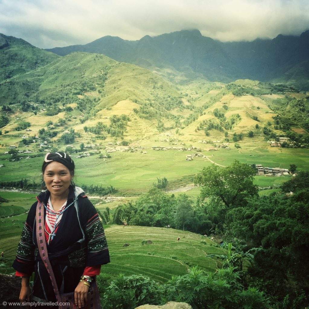 Meet Mama, our amazing host in Sapa