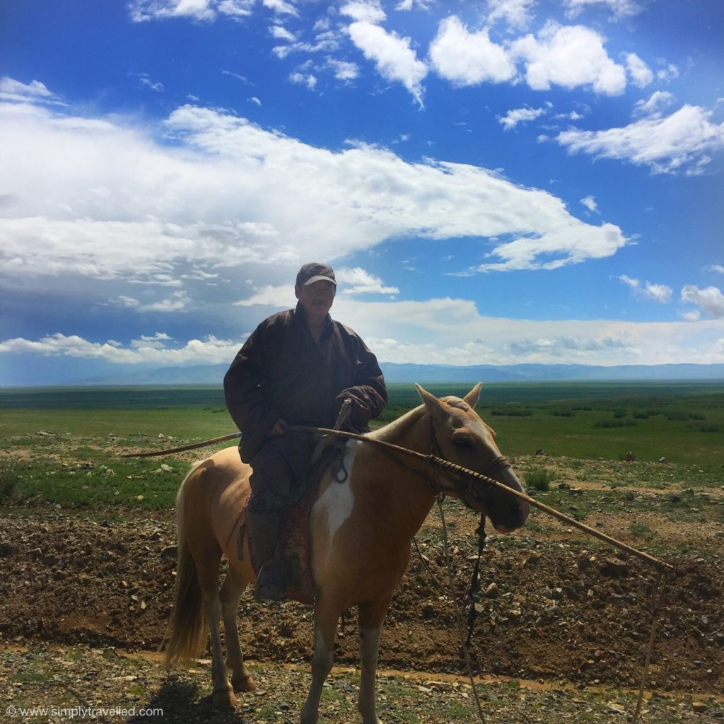 Visiting Mongolia - The upside on taking a tour is you can meet a cool guide