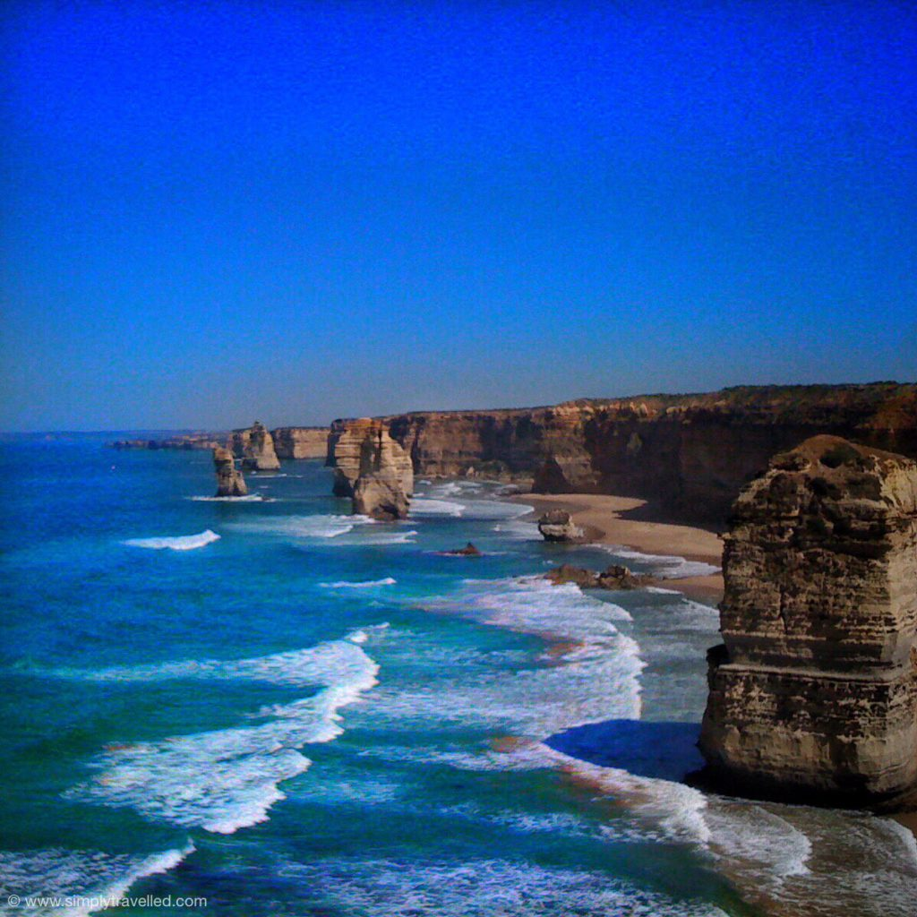 It's hard to beat the Twelve Apostles on a perfect day