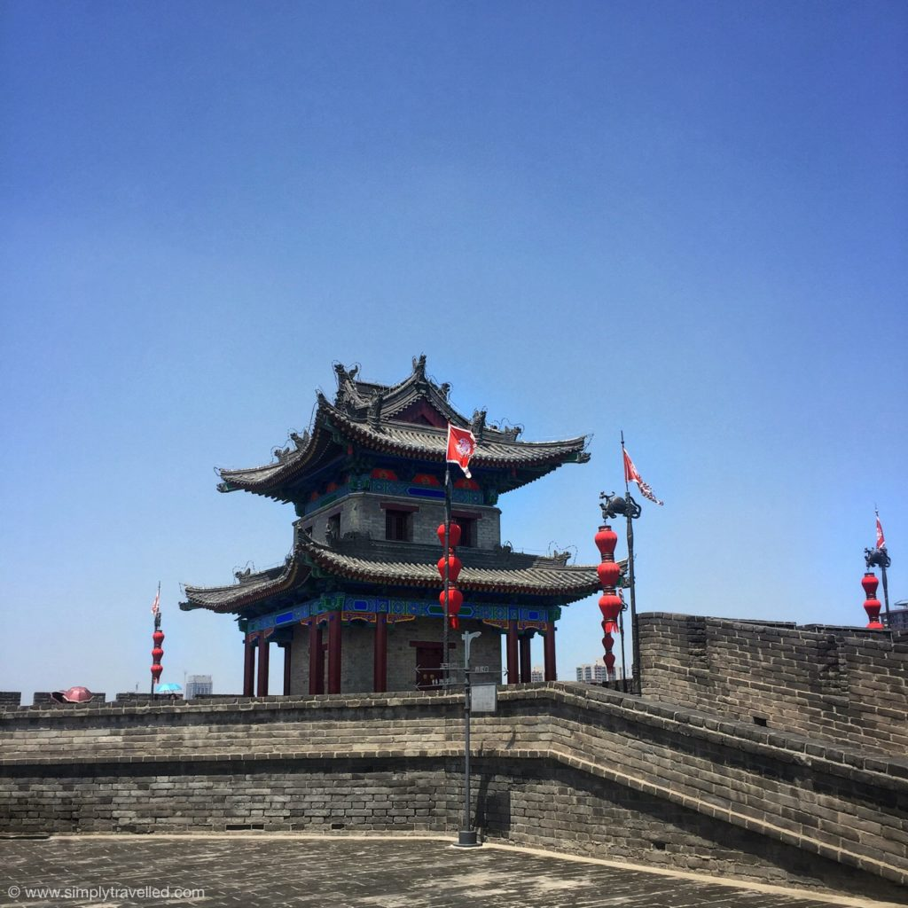 What to do in Xian - Circle Xi'an on top of the City Wall