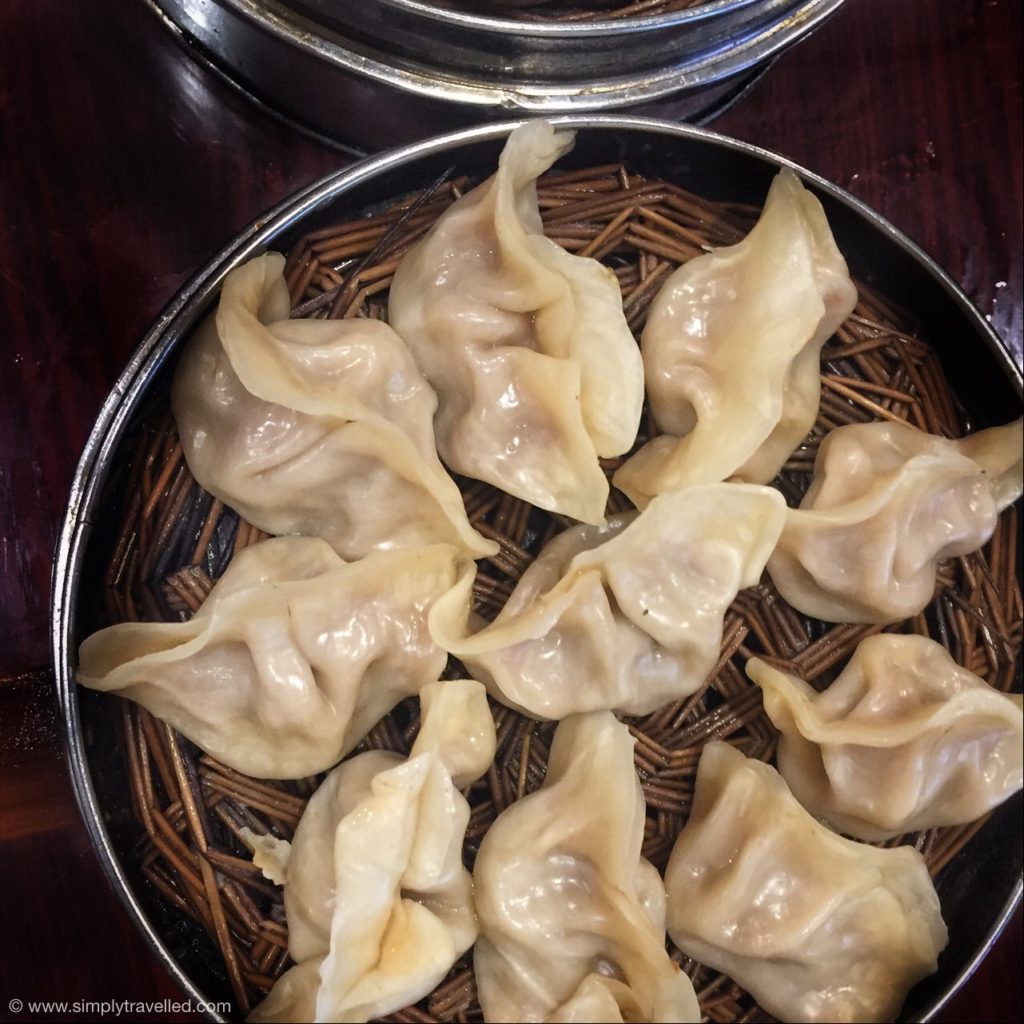What Not To Eat In China - Ahhh, my favourite - traditional dumplings