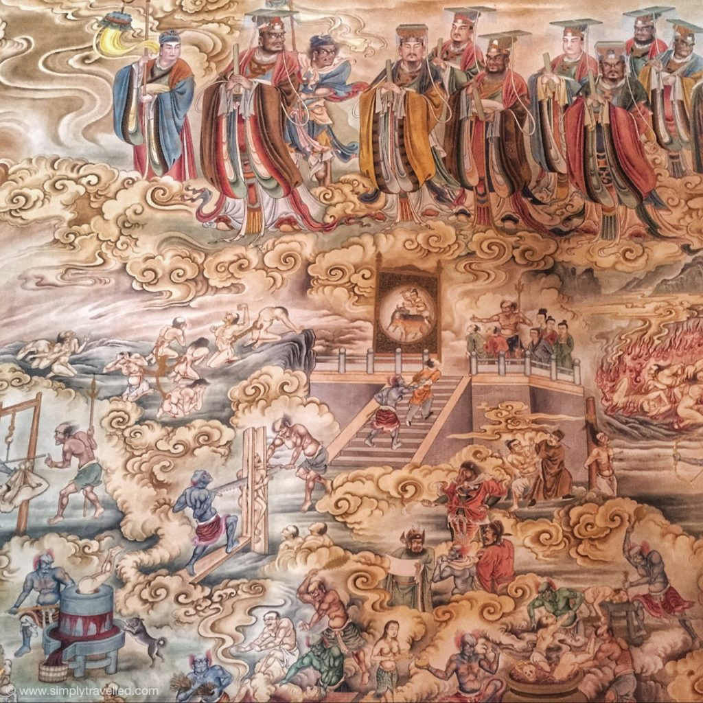 Cool Things About China - Detailed murals show Taoist traditional teachings