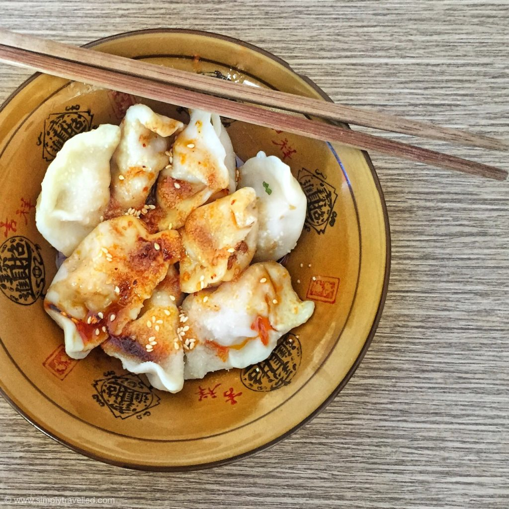 What Not To Eat In China - Sweet & spicy dumplings