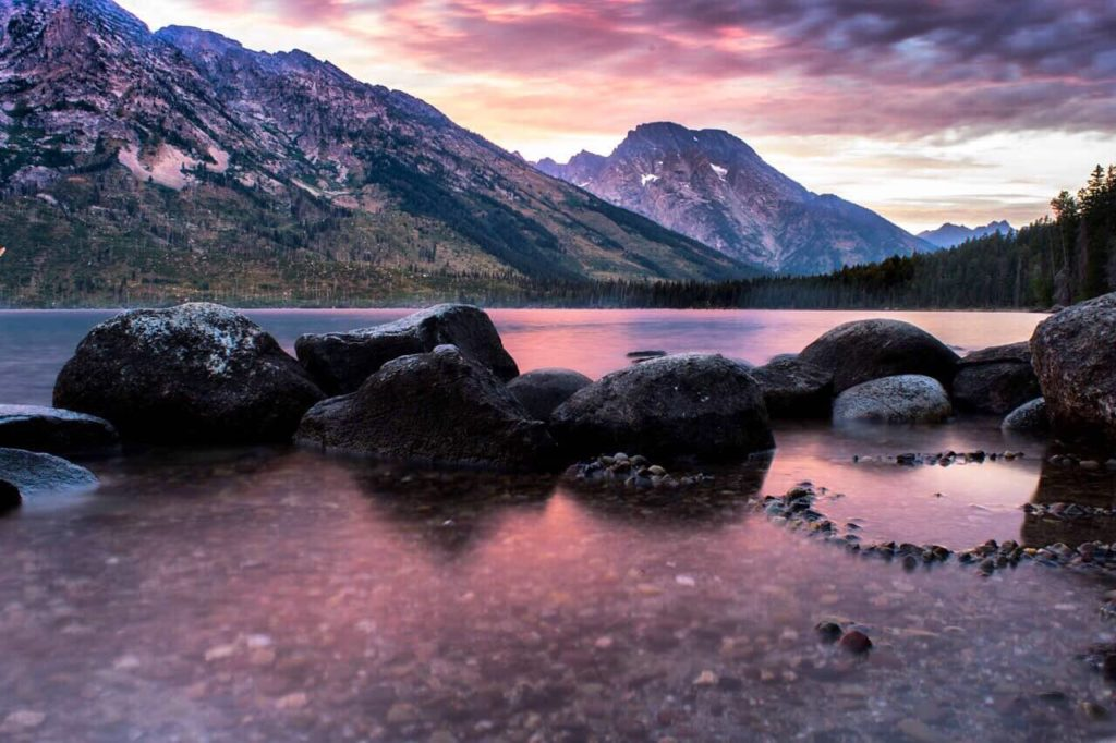 From Sunrise to Sunset - Wow! Jenny Lake in Grand Teton National Park
