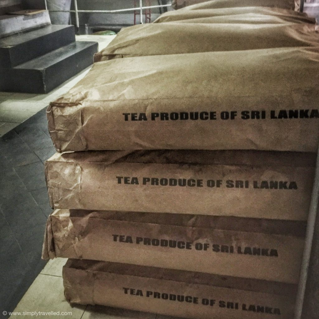 Tea Trails Sri Lanka - 20% is sold locally; 80% is exported