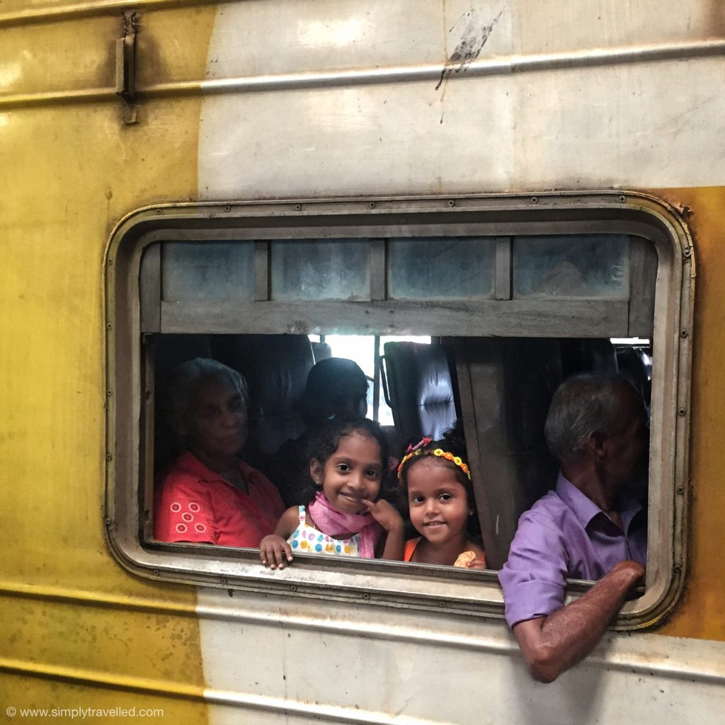SriLanka tour package - Take the train to explore outside of the capital!