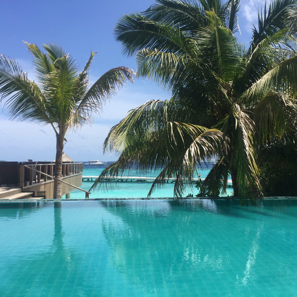Maldives Beach Resort - Infinity pool or ocean - the choice is yours