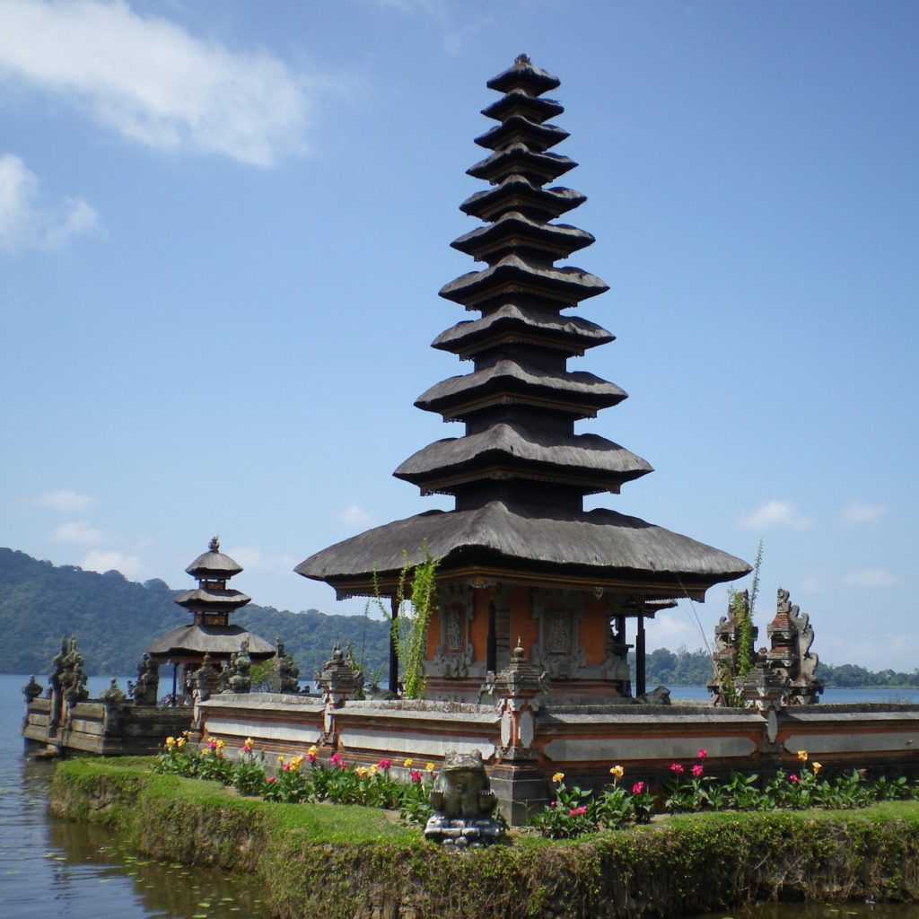 Asia Backpacking - Unfortunately, Kuta is not as picturesque as this!
