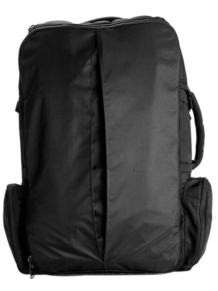 best backpack to travel the world - Zip it up and away it goes!