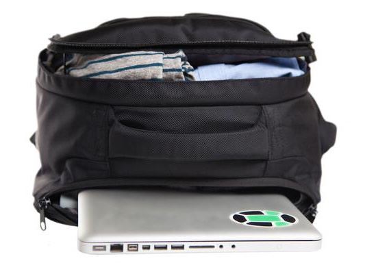 best backpack to travel the world - Keeping my precious laptop safe!