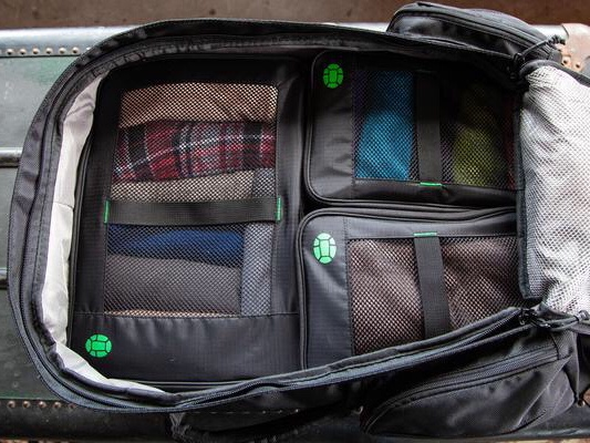 best backpack to travel the world - The Tortuga packing cubes are perfect!