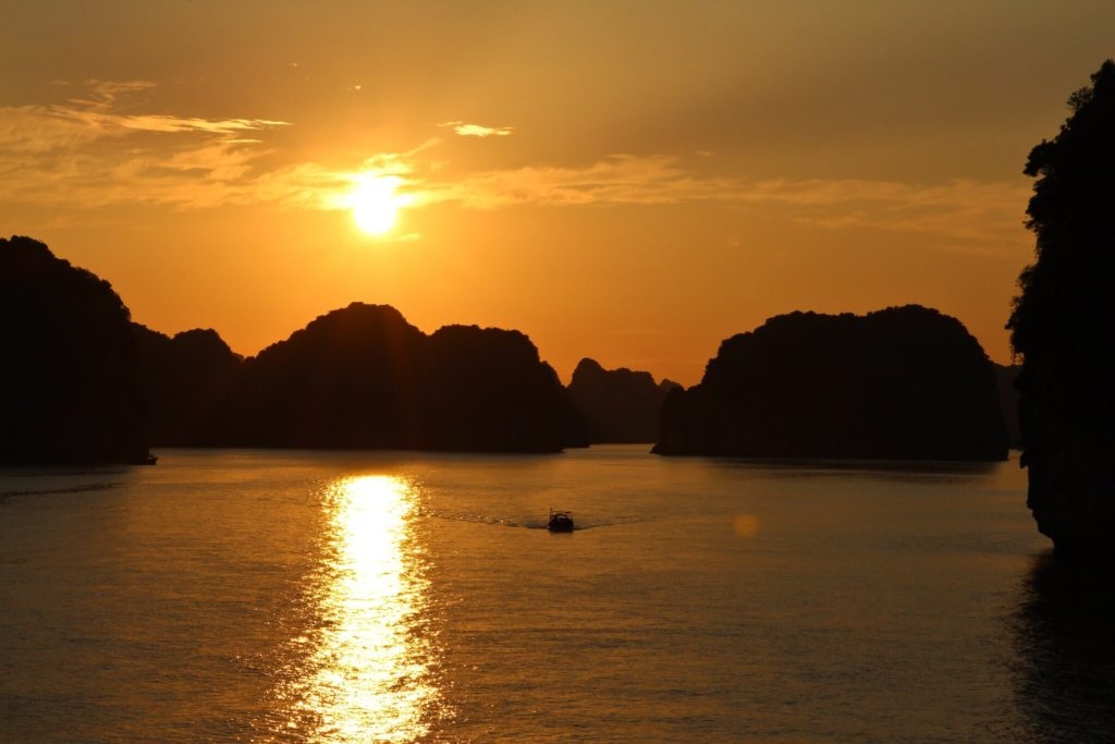 From Sunrise to Sunset - Bai Tu Long Bay had us at hello