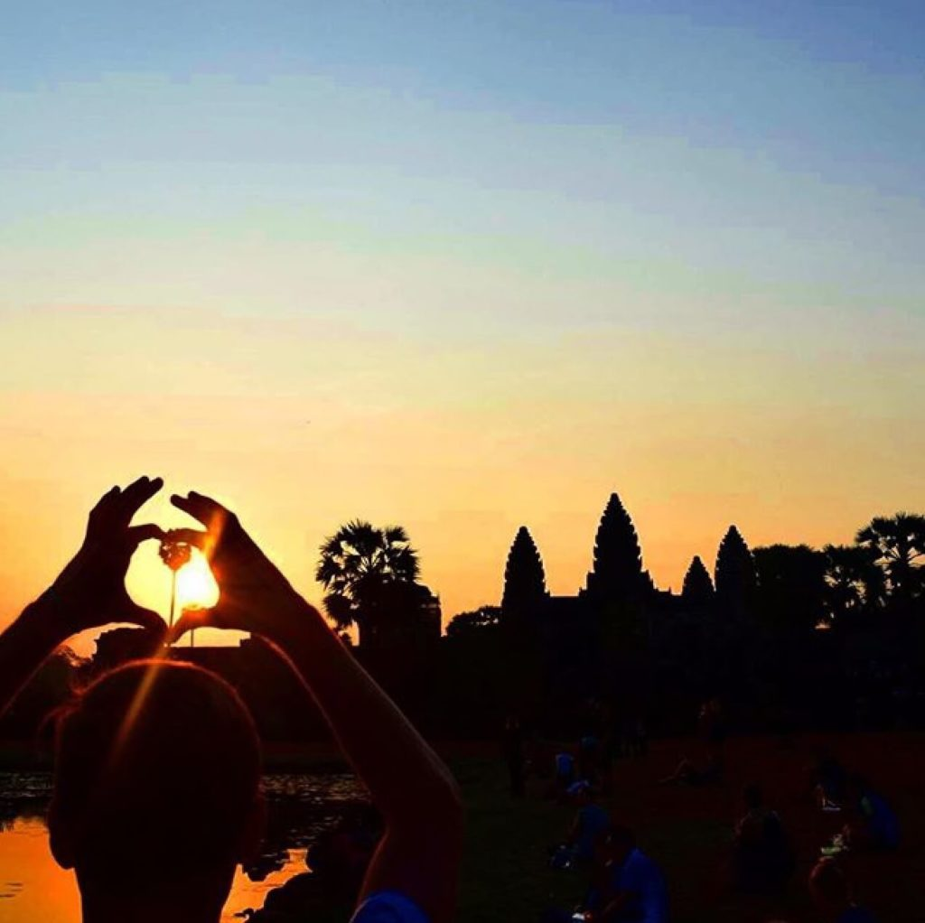 From Sunrise to Sunset - Love is in the air at Angkor Wat