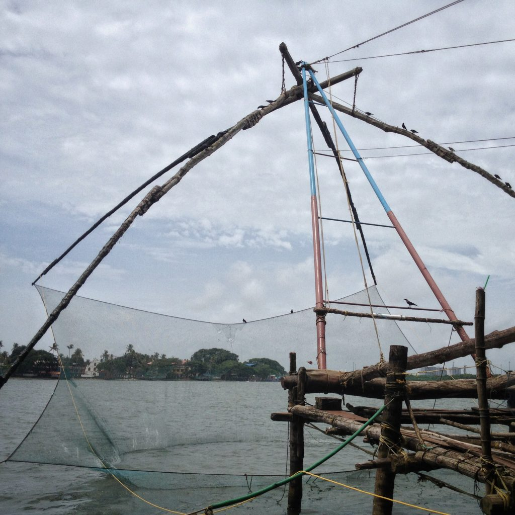 Travels in Kochi - Amazing fishing nets!