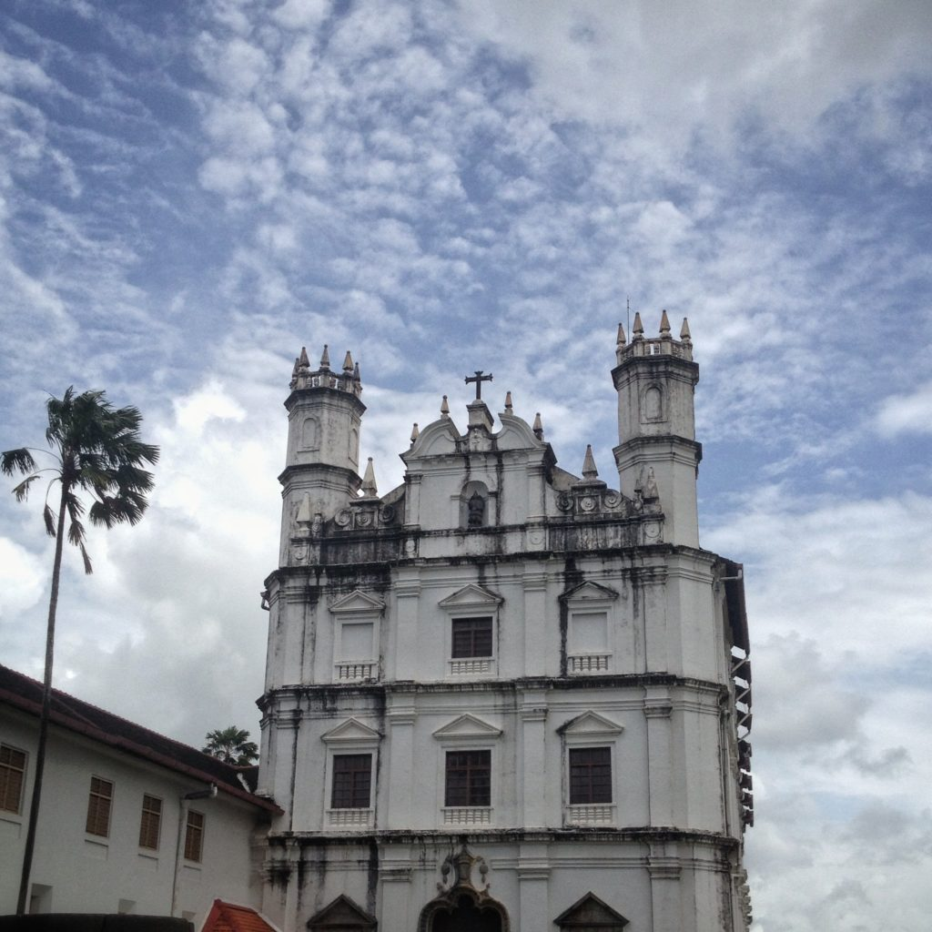 Life In Goa India - Beautiful Portuguese architecture all around