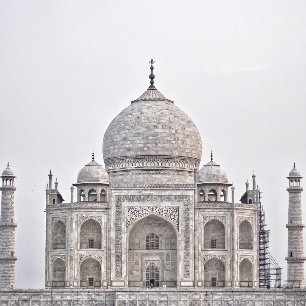 Taj Mahal Indian - There she is!