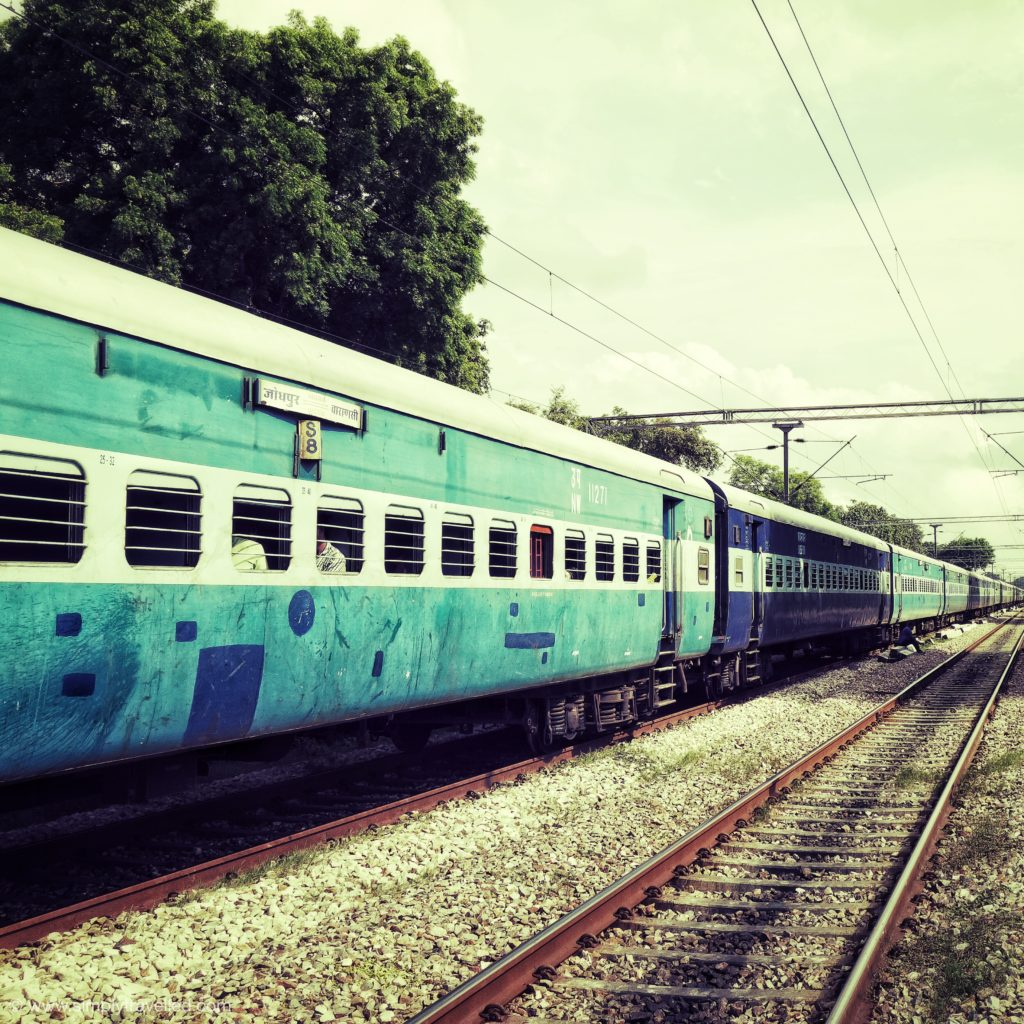 Why visit India - Trains are a great way to get around!
