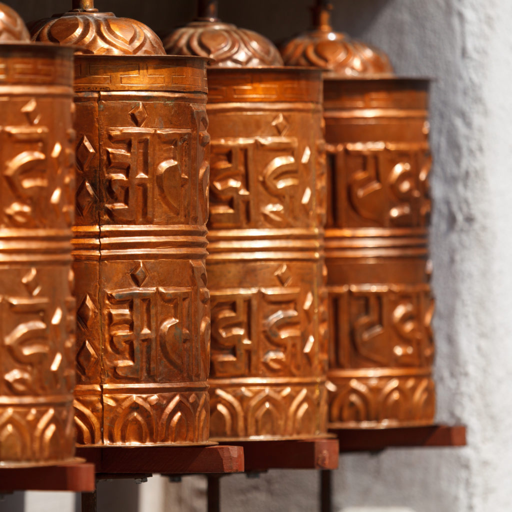 Beautiful Buddhist prayer wheel! - nepal travel