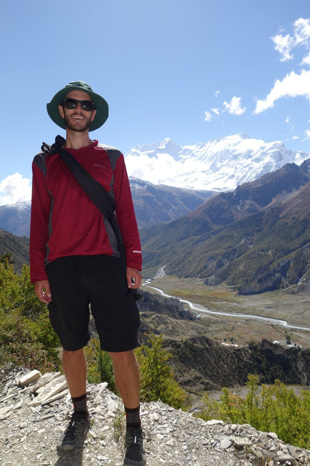 How cool is that hat? - Annapurna Circuit route
