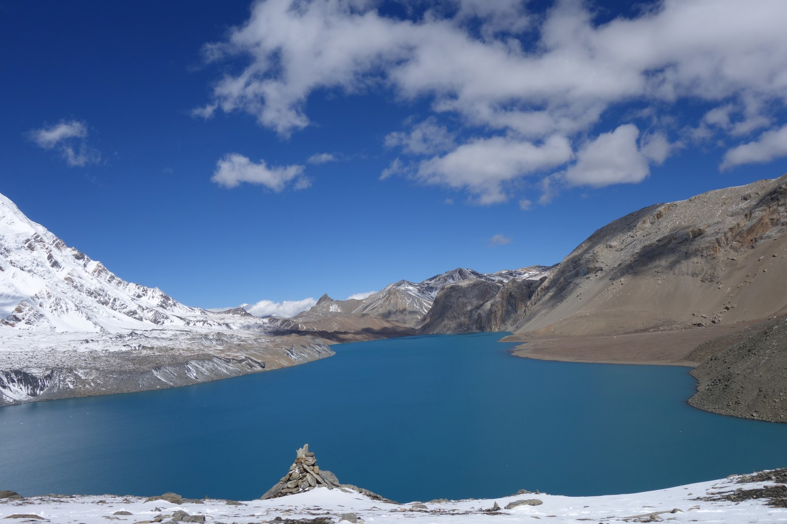 Tilicho lake in all it's beauty