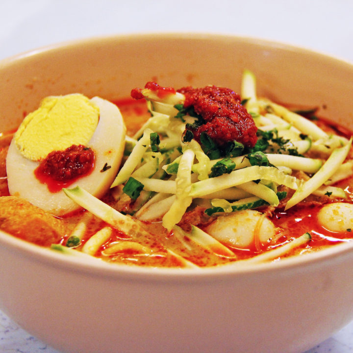 Delicious Laksa! - Malaysian Dishes