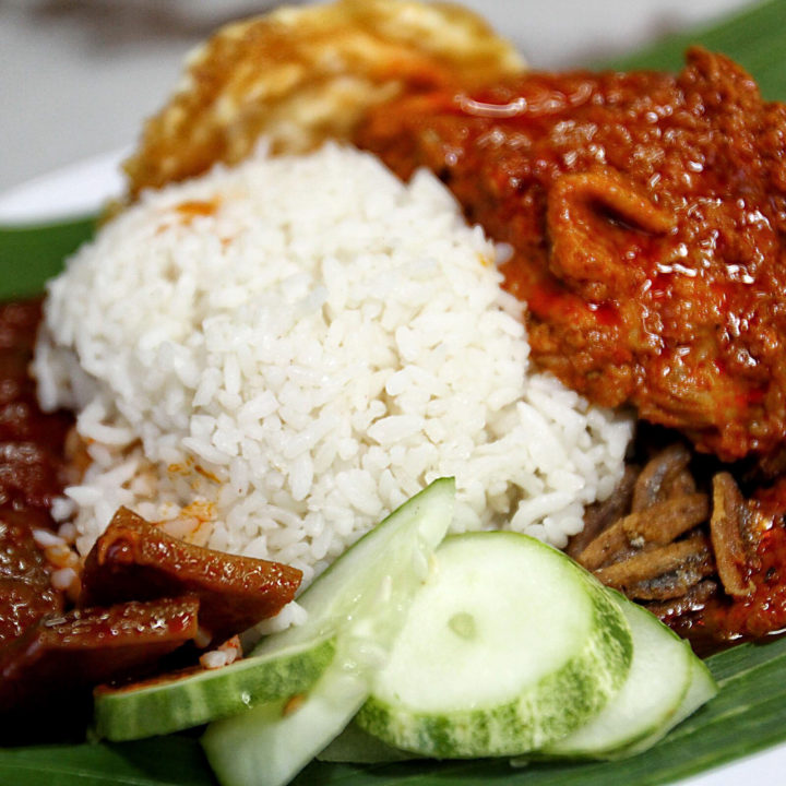 Yummy Nasi Lemak! - Malaysian Dishes