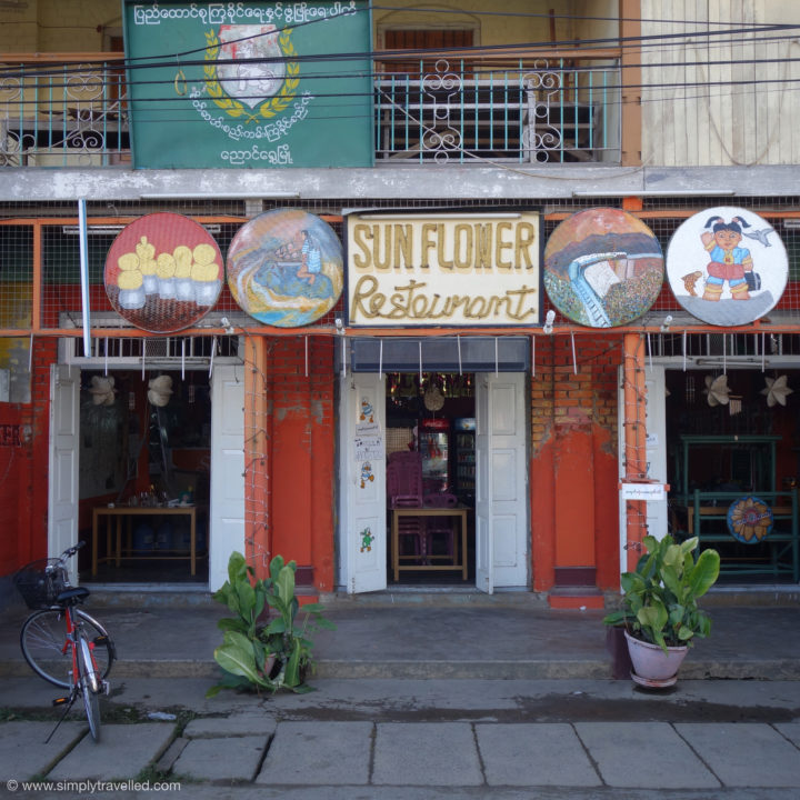 The best avocado salad in town! - Inle Lake