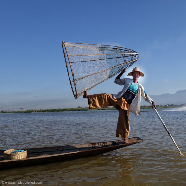 "Say ""cheese!"" - Inle Lake"
