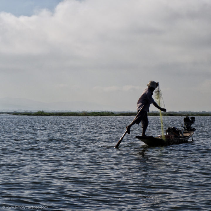 Overfishing is a big problem - why not go vegge instead! - Inle Lake