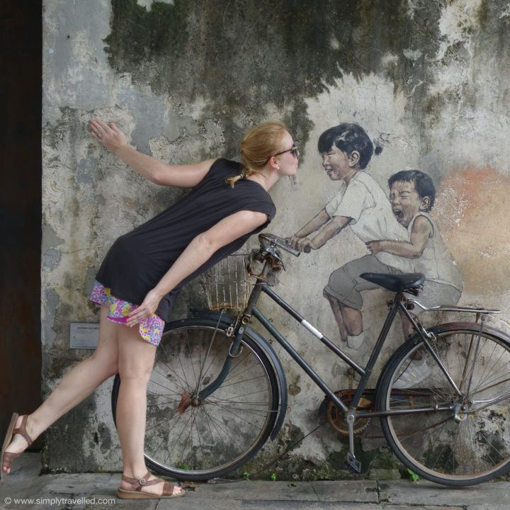 Pucker up! - Penang Art Street