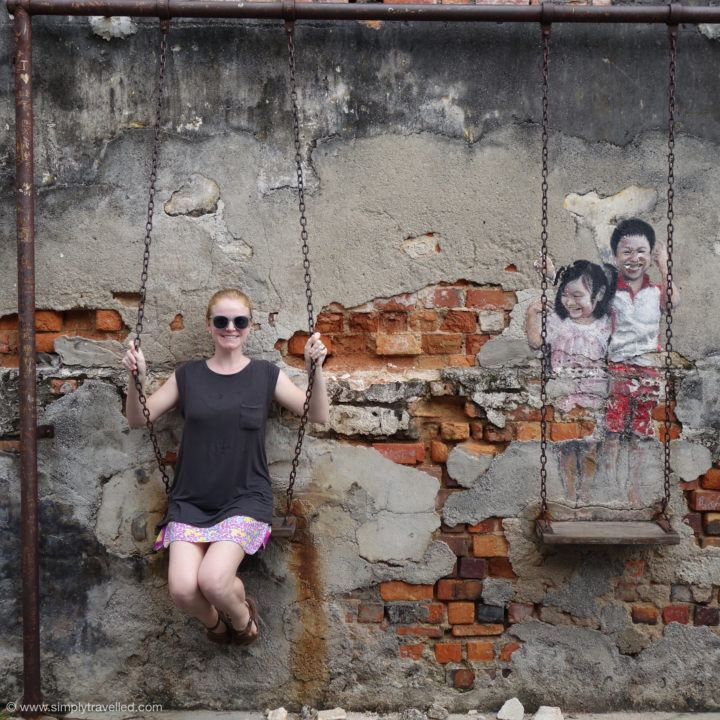 Just a swingin' - Penang Art Street