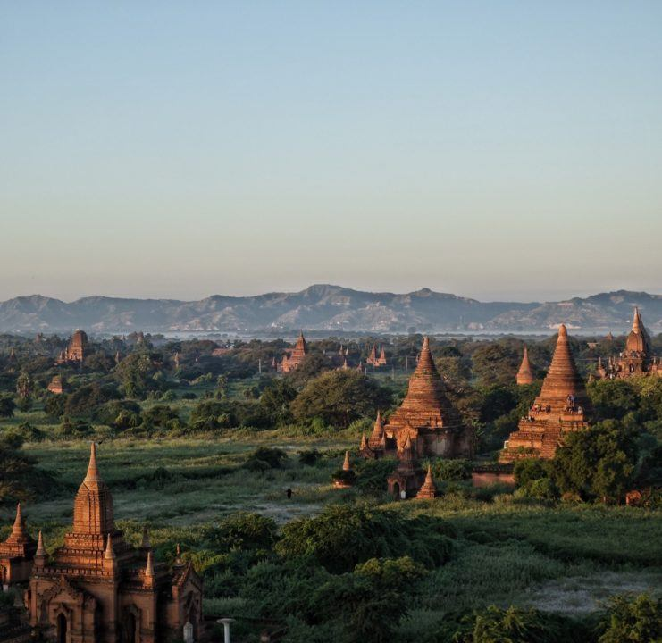 Pagodas as far as the eye can see! - Bagan Tours