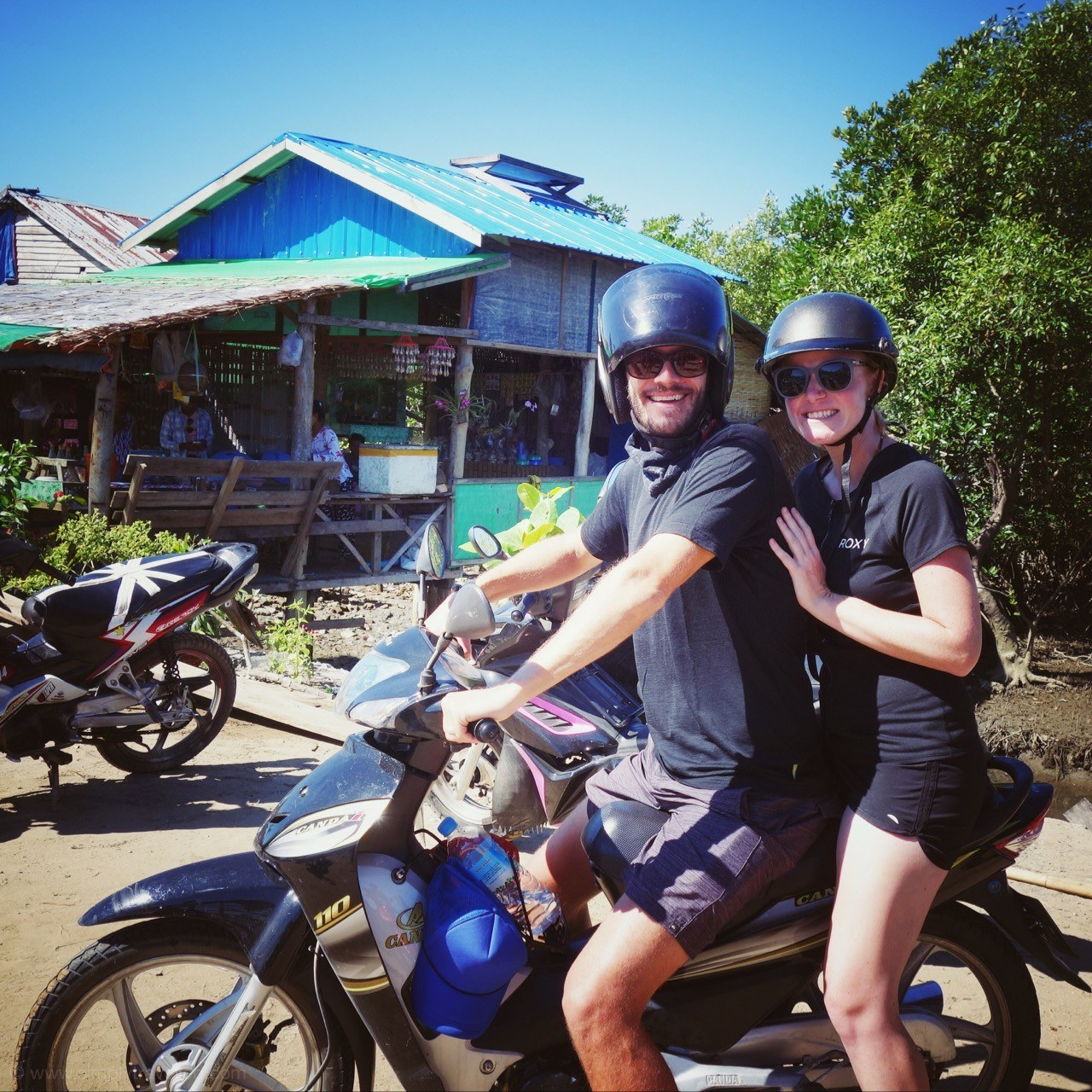 Enjoy the ride! - ngwe saung beach