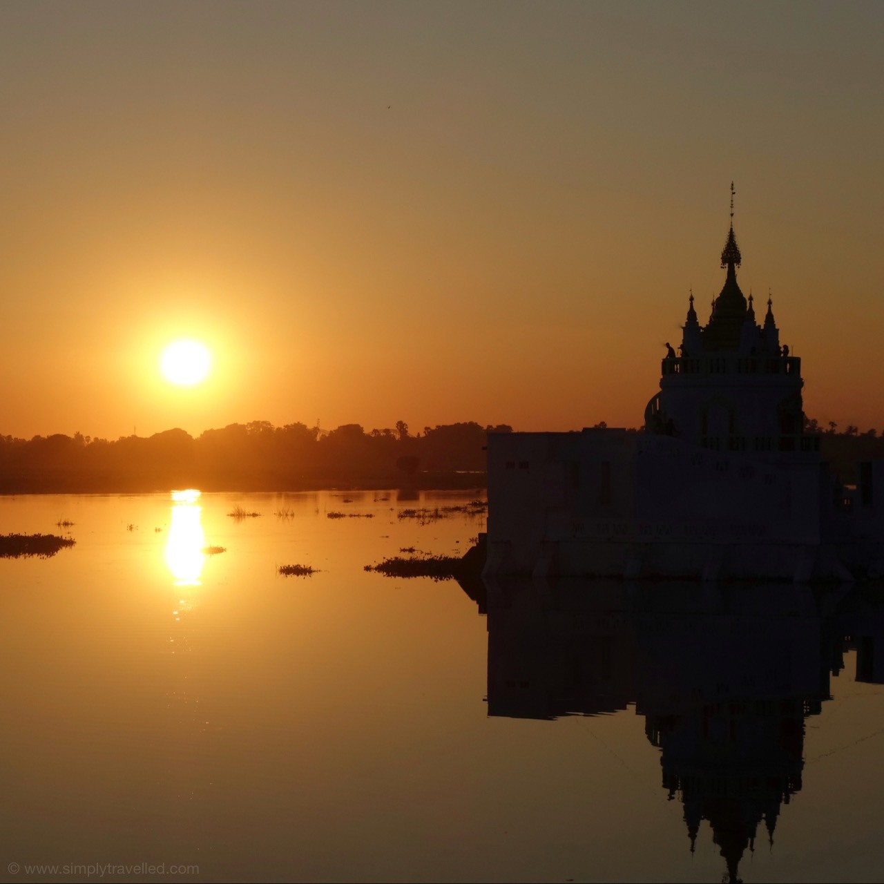 Experience sunset from U Bain Bridge! The Best Myanmar