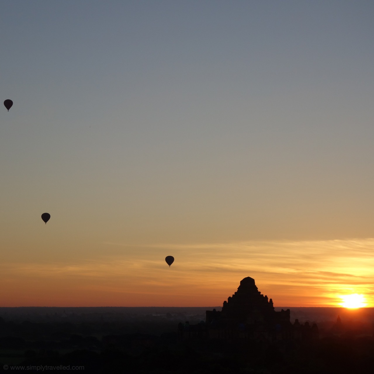 Beautiful Bagan sunrise! The Bet Myanmar